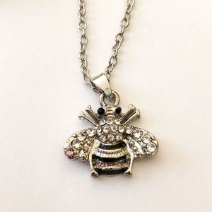 Jewelry - 2/$10 NWT Bee necklace